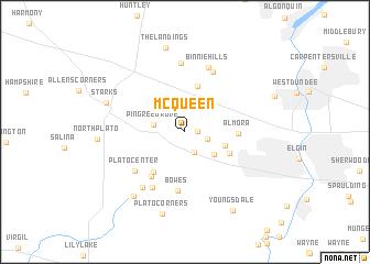 map of McQueen