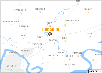 map of Meadows