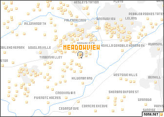 map of Meadowview