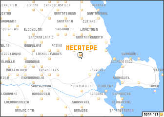 map of Mecatepe