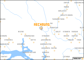 map of Mechaung