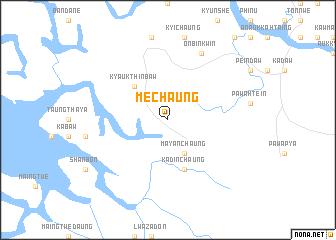 map of Mechaung
