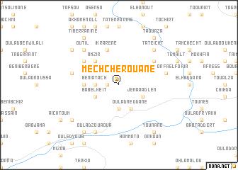 map of Mechcherouane