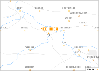 map of Mechnica