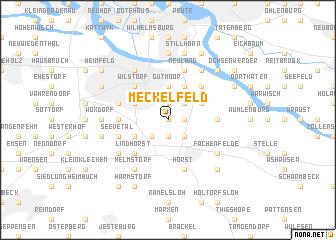 map of Meckelfeld