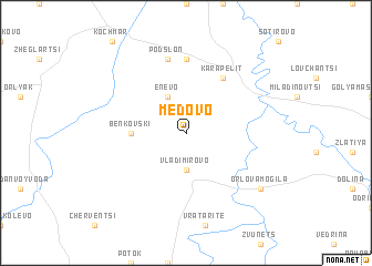 map of Medovo