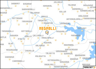 map of Medpalli