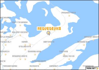 map of Medvedevka