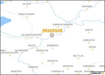 map of Medvedka