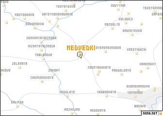 map of Medvedki