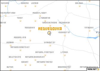 map of Medvedovka