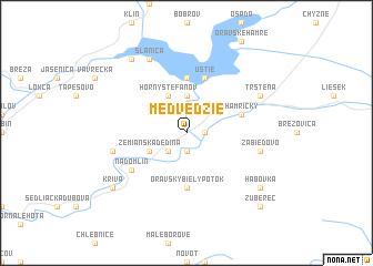 map of Medvedzie