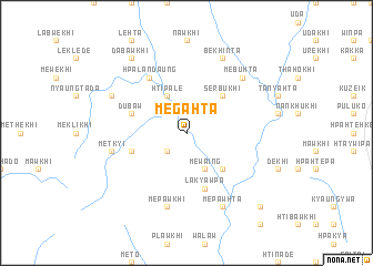 map of Megahta