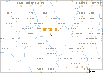 map of Megalaw