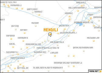 map of Mehdili