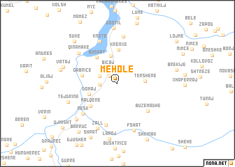 map of Mëhole