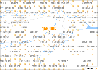 map of Mehring