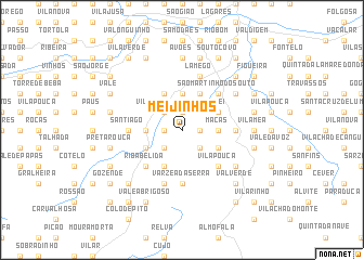 map of Meijinhos