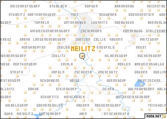 map of Meilitz