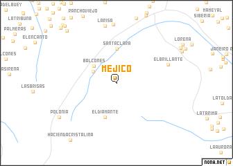 map of Méjico