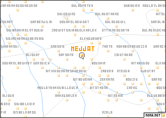 map of Mejjat
