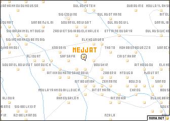 map of Mejjat