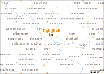 map of Mekansa