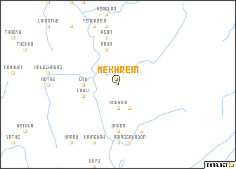 map of Mekhrein