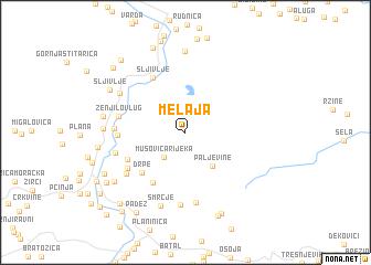 map of Melaja