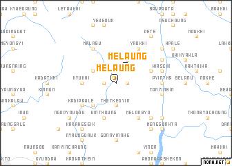 map of Melaung