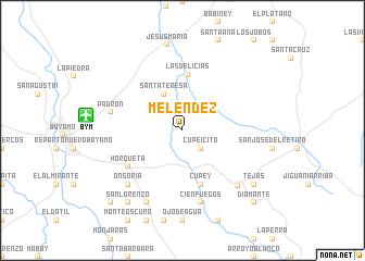 map of Meléndez
