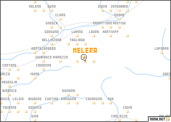 map of Melera