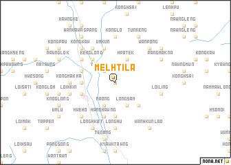 map of Melhtila