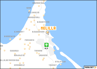 Melilla Spain Map.Melilla Spain Map Nona Net