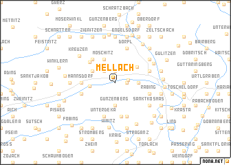 map of Mellach