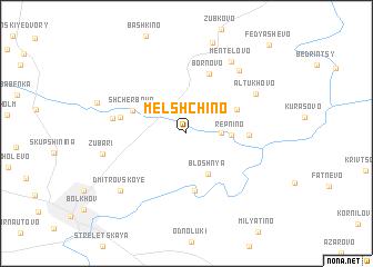 map of Mel\