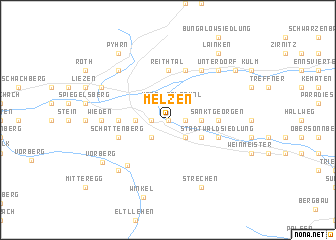 map of Melzen