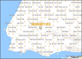 map of Mem Martins