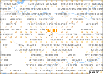map of Mendt
