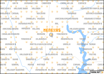 map of Menexas