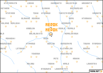 map of Mèpok