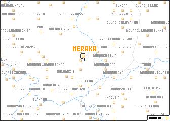 map of Meraka