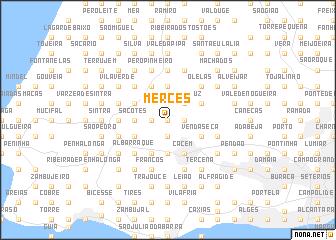 map of Mercês