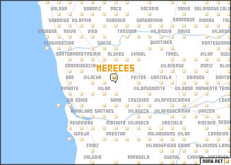 map of Mereces