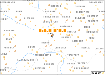 map of Merj Hammoud