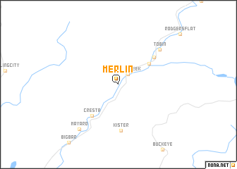 map of Merlin