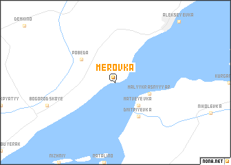 map of Merovka