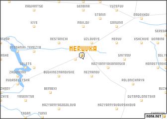 map of Meruvka