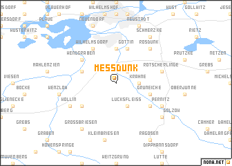 map of Meßdunk