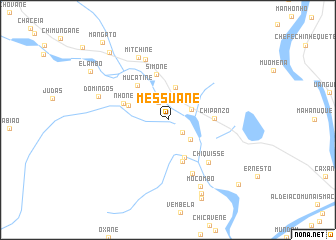 map of Messuane